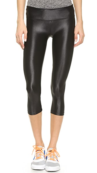 KORAL ACTIVEWEAR Capri Leggings - Black