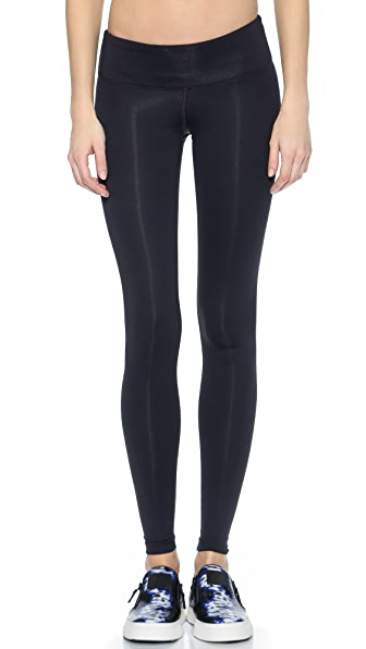 KORAL ACTIVEWEAR Core Drive Leggings In Black