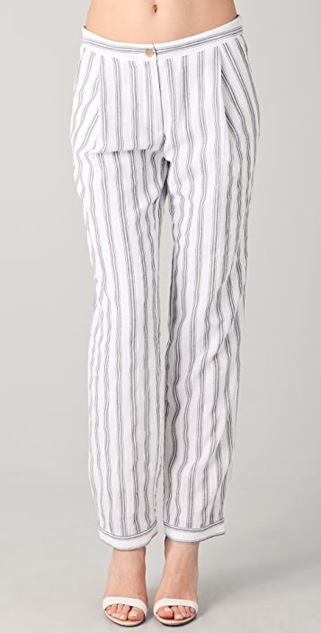 Kaelen Striped Slouch Pants