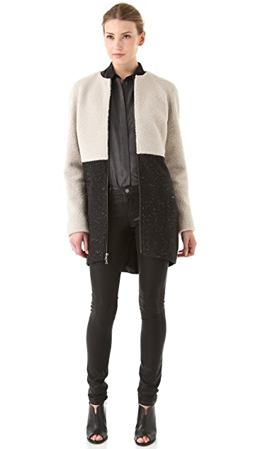 Kaelen Shearling Coat