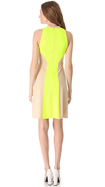Kaelen High Neck Dress