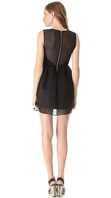 Kaelen Neoprene Combo Dress