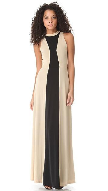 Kaelen High Neck Gown