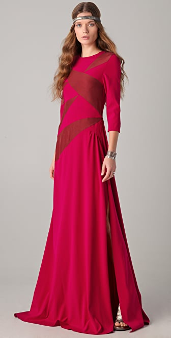 Kalmanovich Pomegranate Dress