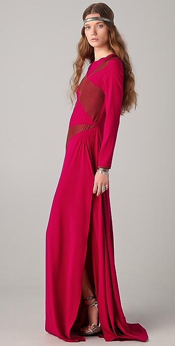 Kalmanovich Pomegranate Dress