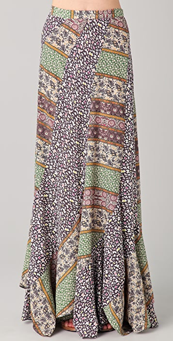 Karen Zambos Vintage Couture Abby Maxi Skirt
