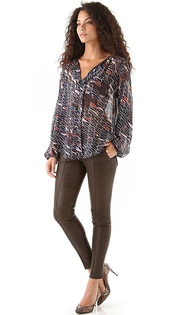 Karen Zambos Vintage Couture Jenson Top