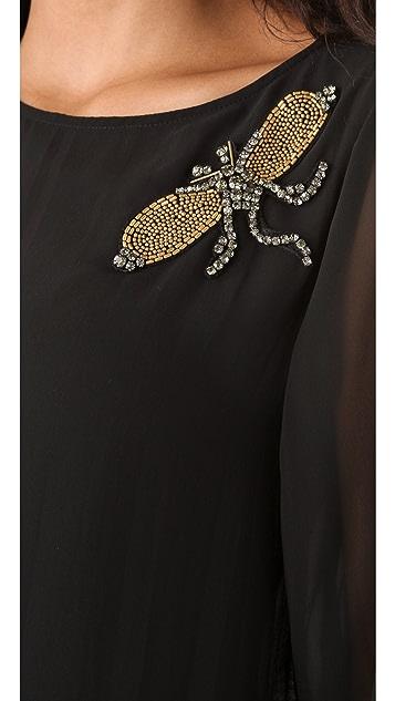 Karen Zambos Vintage Couture Jaden Top