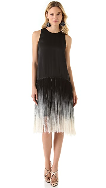 Karen Zambos Vintage Couture Amelia Fringe Dress