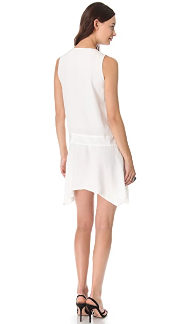 Karen Zambos Vintage Couture Marlie Deep V Dress