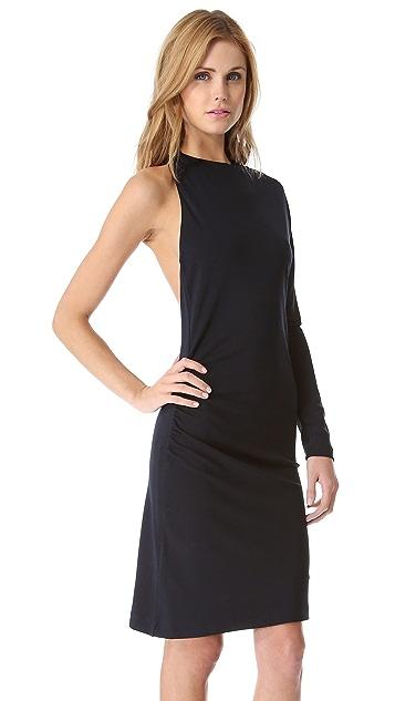Karen Zambos Vintage Couture Emma One Shoulder Dress