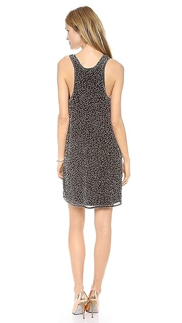 Karen Zambos Vintage Couture Beaded Tank Dress