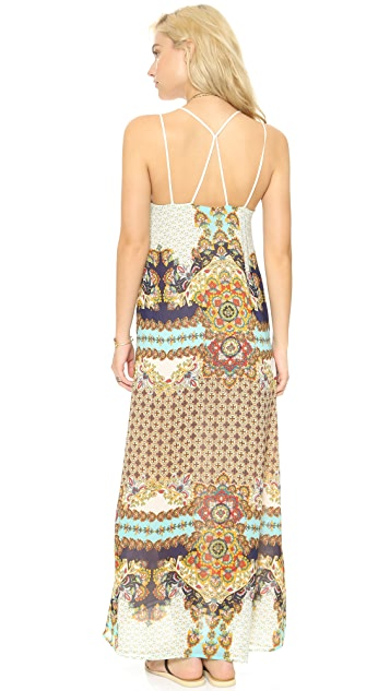 Karen Zambos Vintage Couture Jocelyn Maxi Dress
