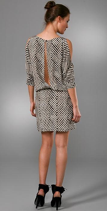 Karina Grimaldi Mariana Print Mini Dress