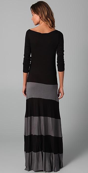 Karina Grimaldi Biscot Long Sleeve Dress