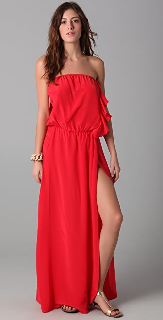 Karina Grimaldi Bessy Long Dress