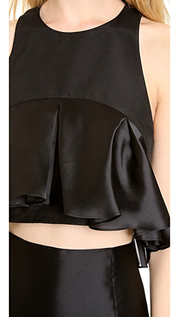 Karla Spetic Pleated Colette Top