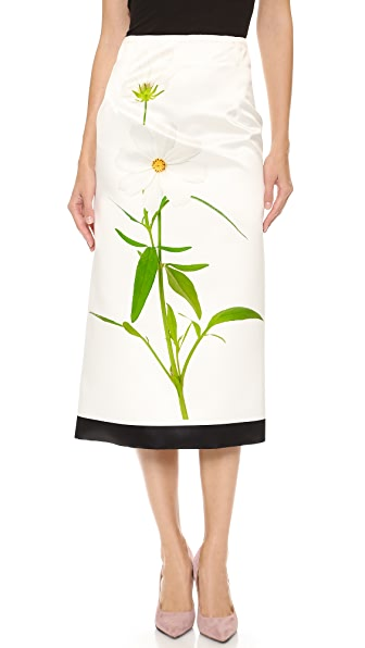Karla Spetic Roadside Flower Skirt