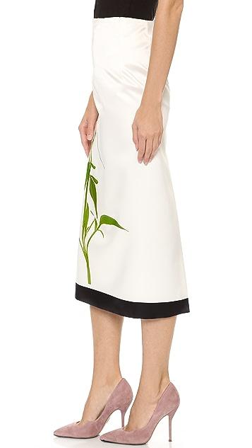 Karla Spetic Roadside Flower Skirt