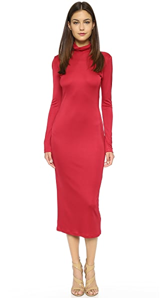 Karla Spetic Formfitting Dress - Red