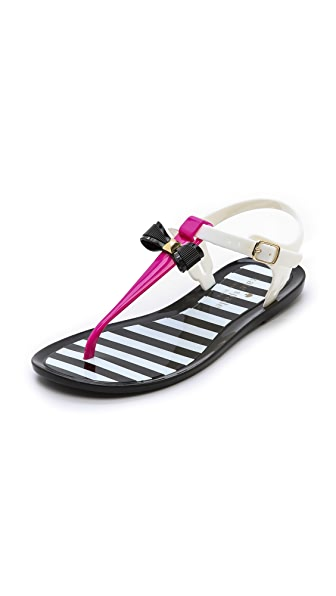 Kate Spade New York Fresh Jelly Bow Sandals