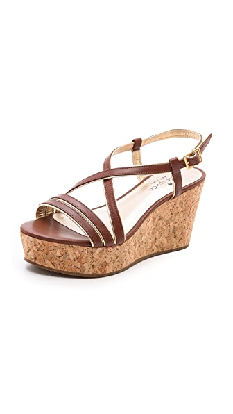 Kate Spade New York Tender Cork Wedge Sandals