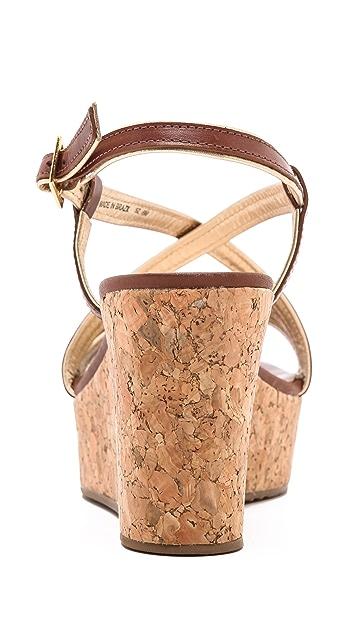 Kate Spade New York Tender Cork Wedge Sandals