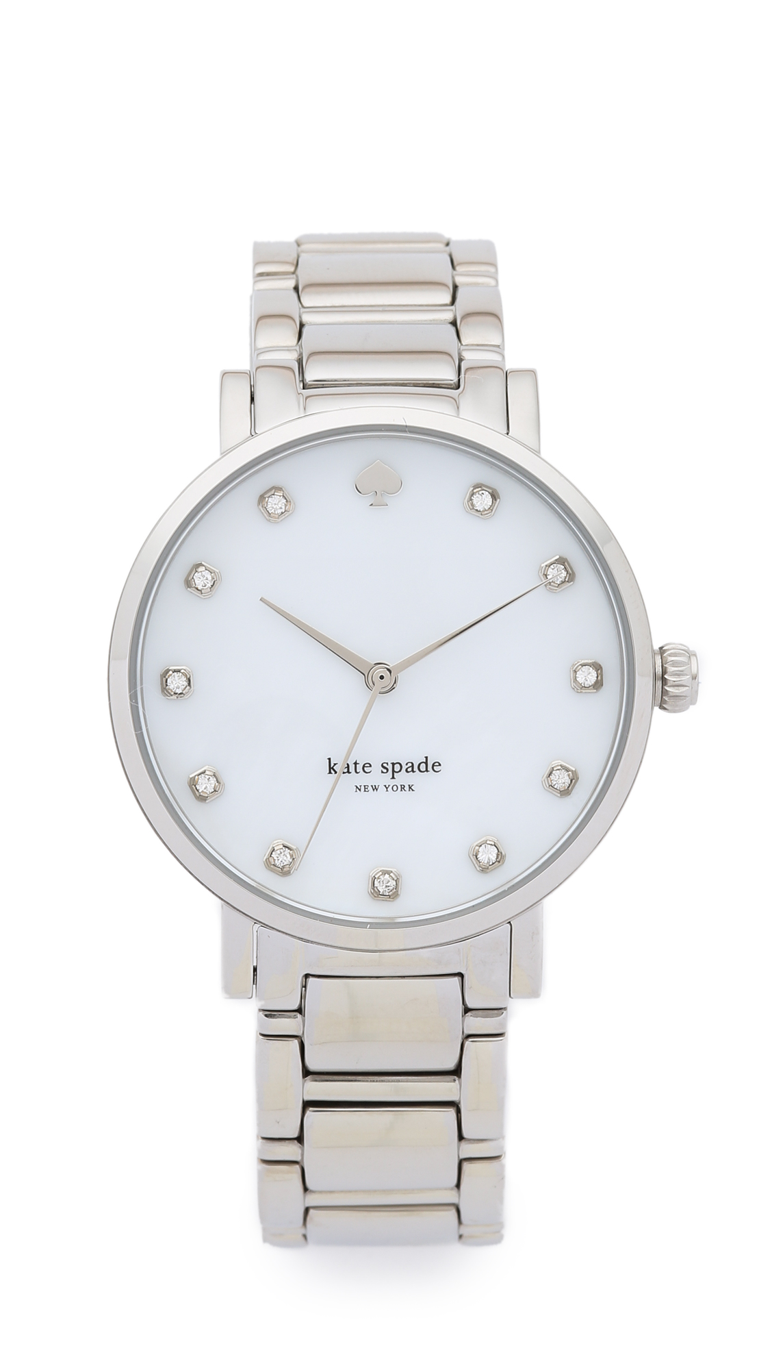 Kate Spade New York Gramercy Bracelet Watch - Silver at Shopbop
