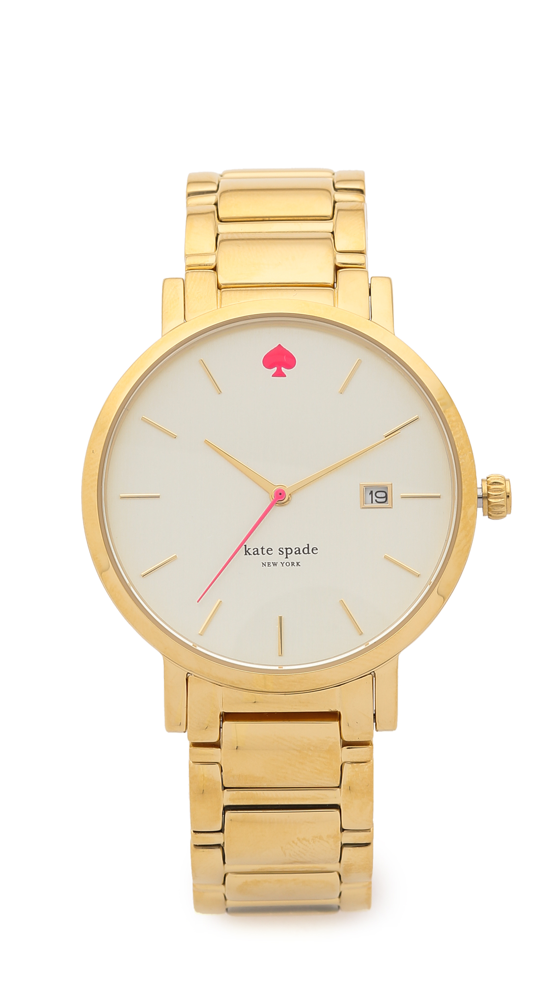 Kate Spade New York Gramercy Grand Bracelet Watch - Gold at Shopbop