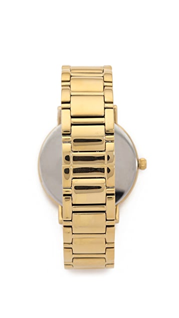 Kate Spade New York Gramercy Grand Watch With Crystal Markers