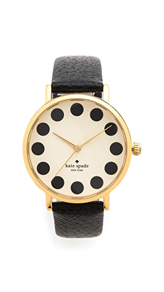 Kate Spade New York Metro Black Dot Watch