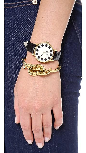 Kate Spade New York Metro Black Dot Watch