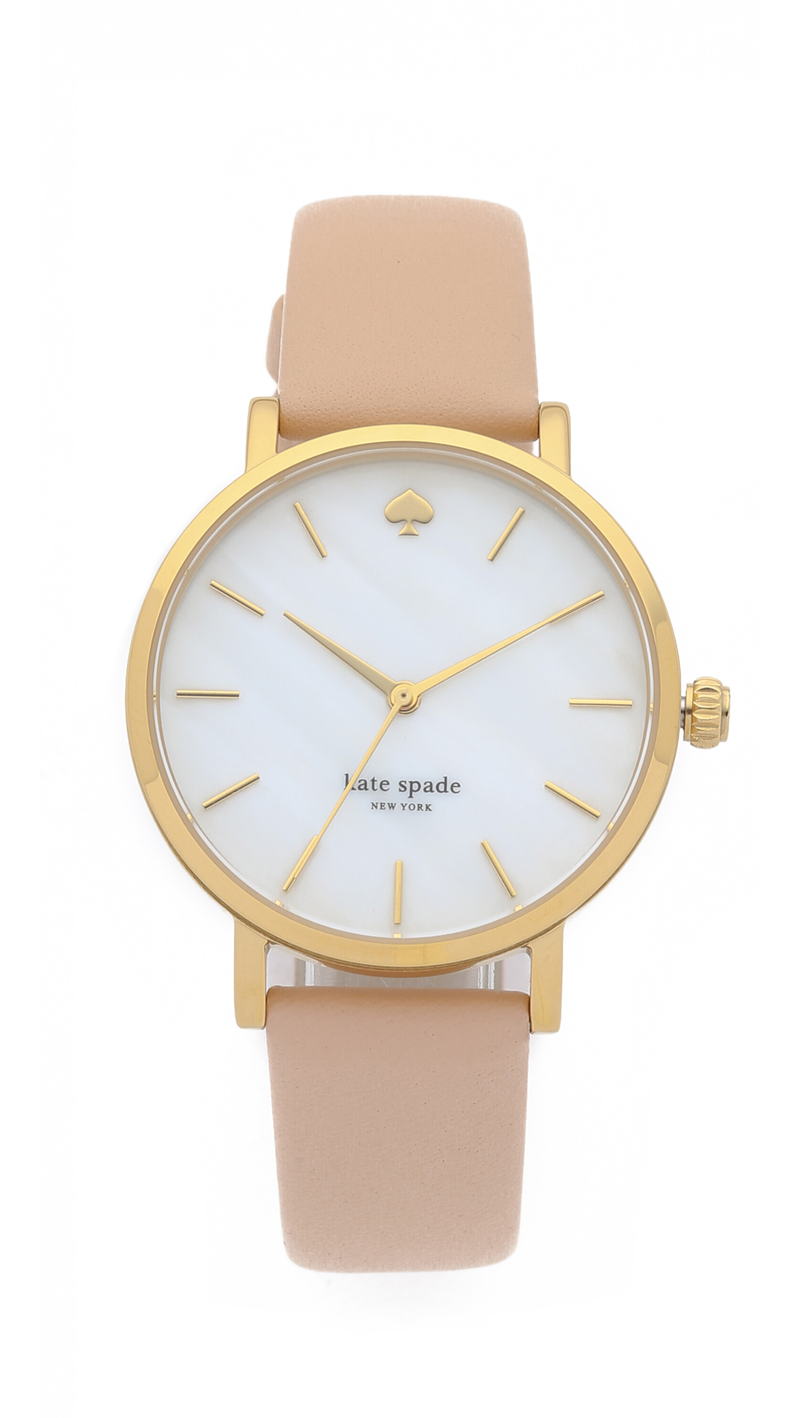 Kate Spade New York Metro Classic Watch - Vachetta at Shopbop