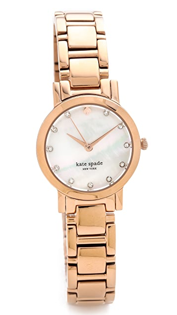 Kate Spade New York Gramercy Mini Crystal Marker Watch