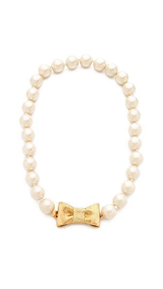 Kate Spade New York All Wrapped Up Short Necklace