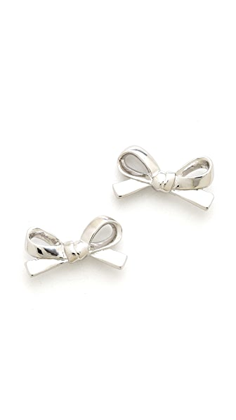 Kate Spade New York Skinny Mini Bow Stud Earrings