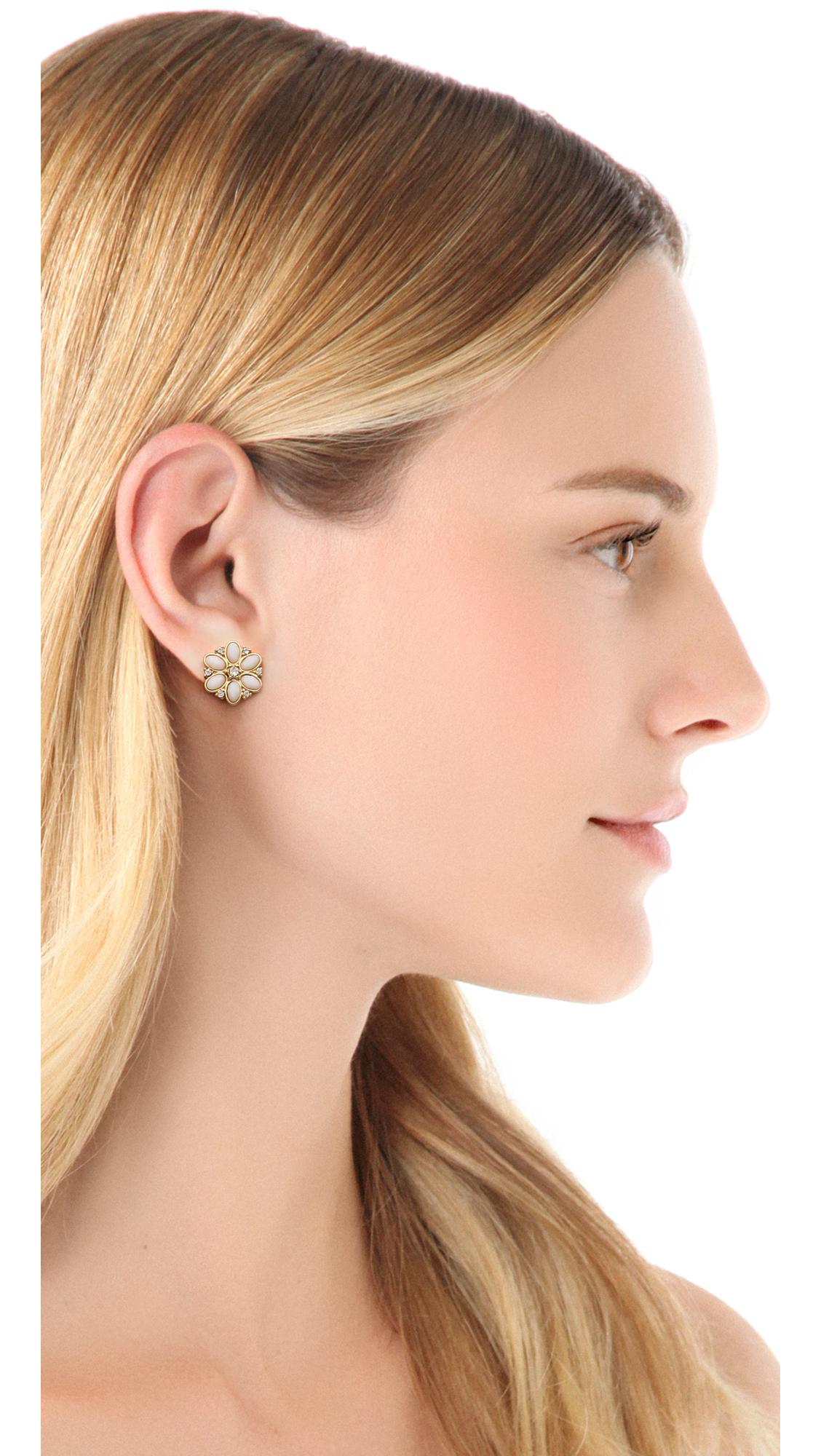 fb3580e311c50f Kate Spade New York Floral Fete Stud Earrings   SHOPBOP