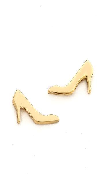 Kate Spade New York Shoe in Heel Stud Earrings