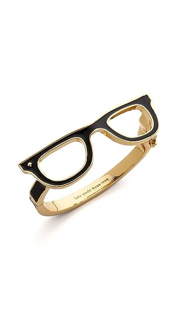 Kate Spade New York Goreski Glasses Bangle Bracelet