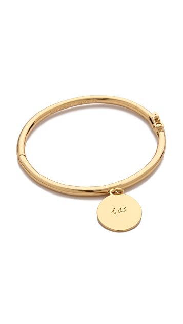 Kate Spade New York I Do Charm Bangle Bracelet