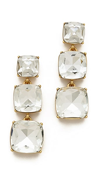 Kate Spade New York Shaken & Stirred Graduated Linear Earrings