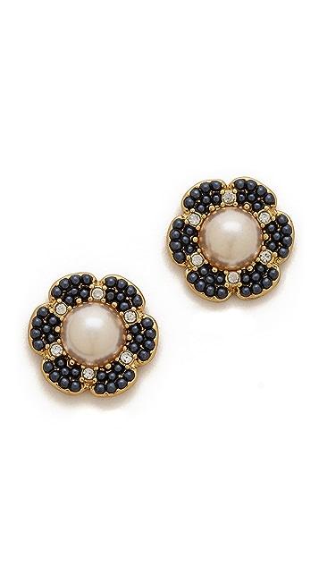 Kate Spade New York Park Floral Stud Earrings
