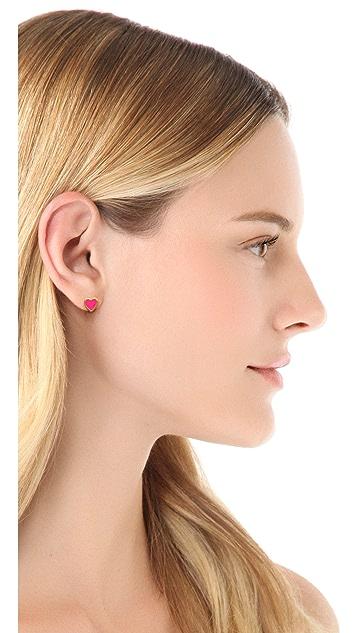 Kate Spade New York Be Mine Stud Earrings