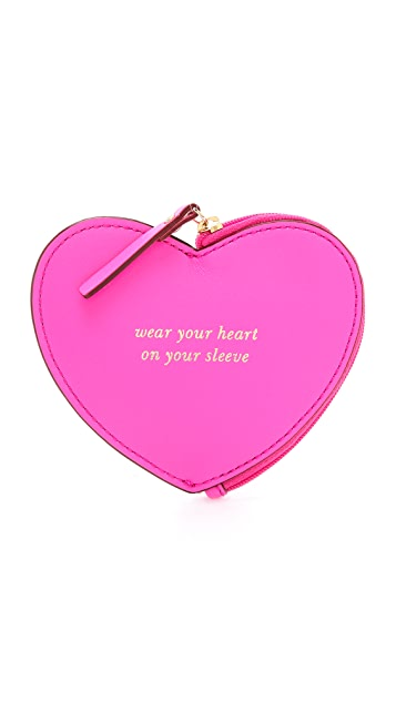 Kate Spade New York Heart Coin Purse