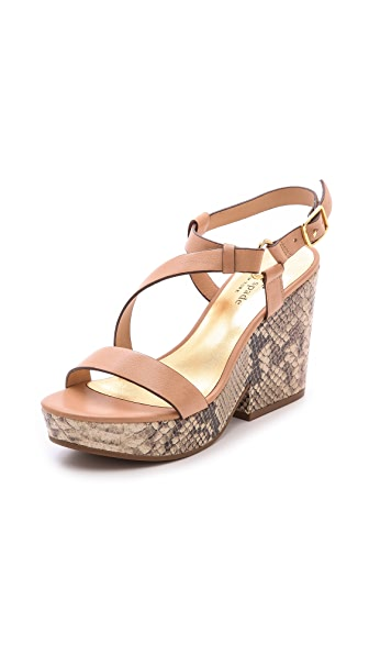 Kate Spade New York Viex Cork Wedge Sandals