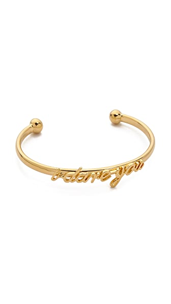 Kate Spade New York Say Yes I Dare You Cuff Bracelet