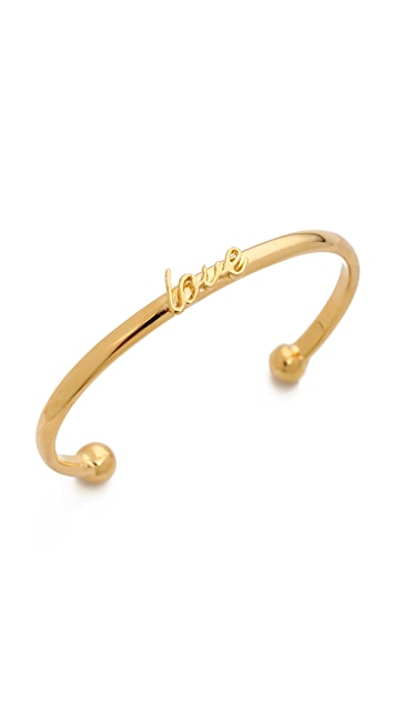 Kate Spade New York Say Yes Love Cuff Bracelet