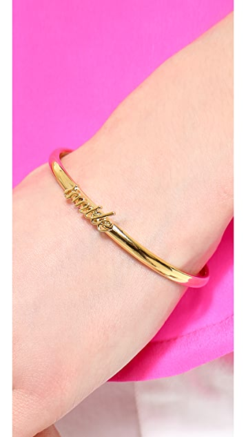 Kate Spade New York Say Yes Smile Cuff Bracelet