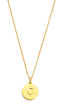 Kate Spade New York Letter Pendant Necklace