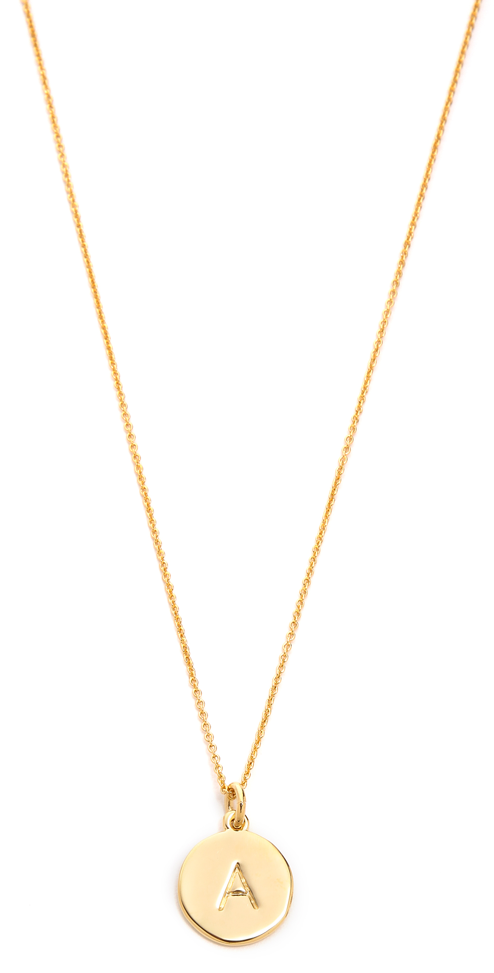 Letter Pendant Necklace Kate Spade New York